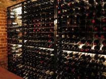 12 high 18 wide powder coated wine racks