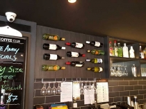 Wine Bottle Brackets - Coffee Club Broadbeach