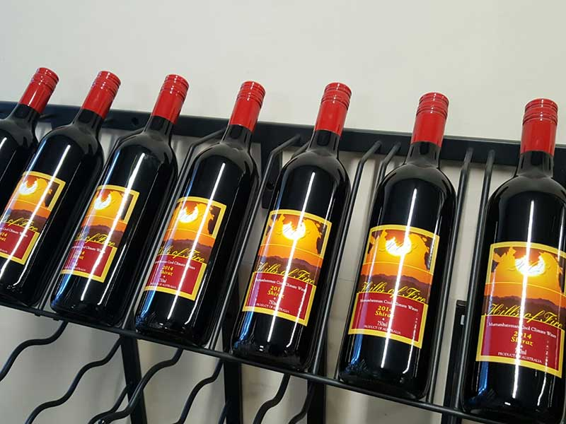 Strip Wine Display Racks