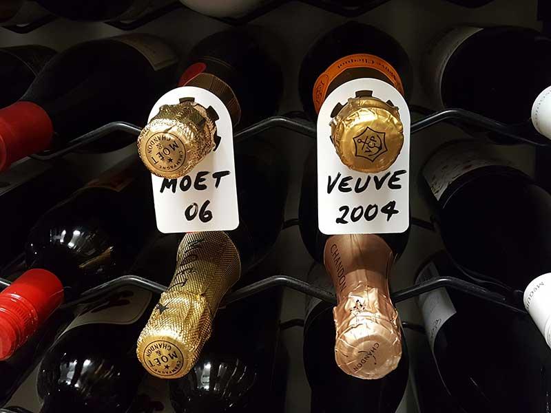 Wine Bottle Neck Tags Multipurpose Polypropylene