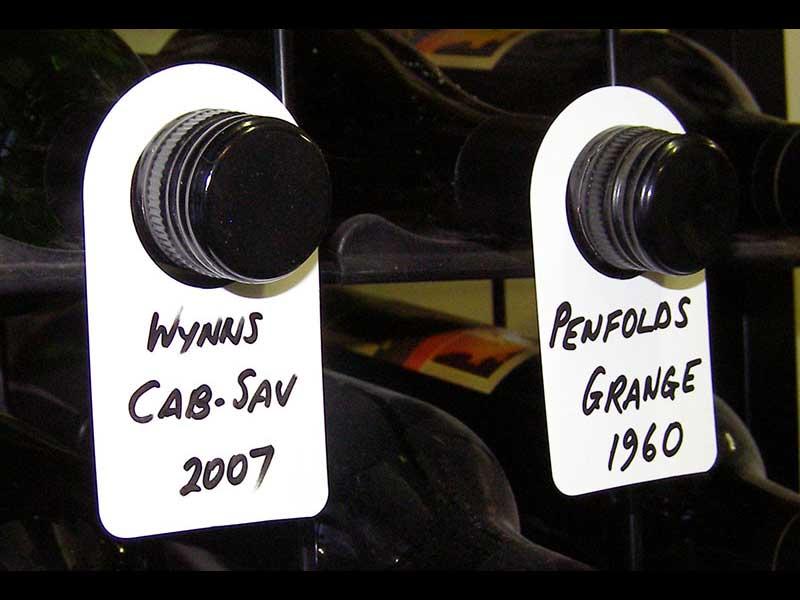 Wine Bottle Neck Tags Polypropylene