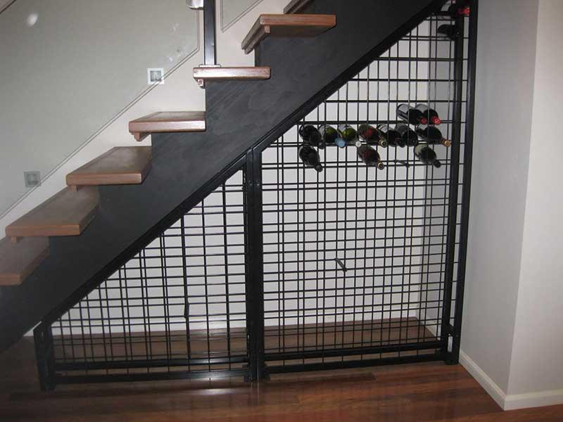 Under Stair Wine Racks