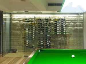 Custom Strip Wine Racks