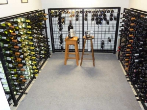12 high x 18 wide Wine Rack