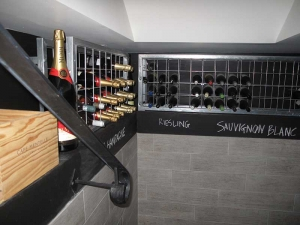 Custom Small Magnum Wine Rack