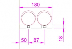King Pin Double Racks
