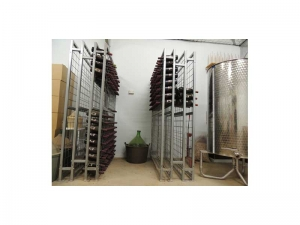 22 high x 9 wide Wine Rack