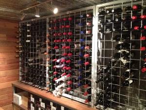 9 high x 22 wide Wine Rack