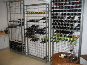 24 high x 9 wide Wine Rack