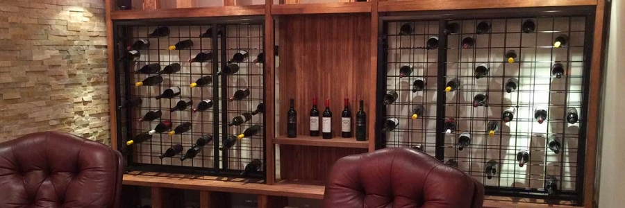 Custom Powder Coated Wine Racks
