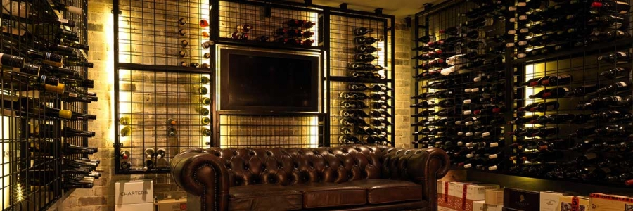 Stylish Wine Cellar